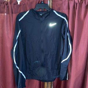 Nike Zip Up Hooded Windbreaker